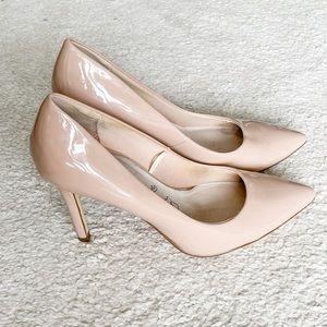 Beige pumps | heels
